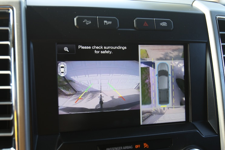 003 2015 Ford F 150 Report 3 Backup Camera