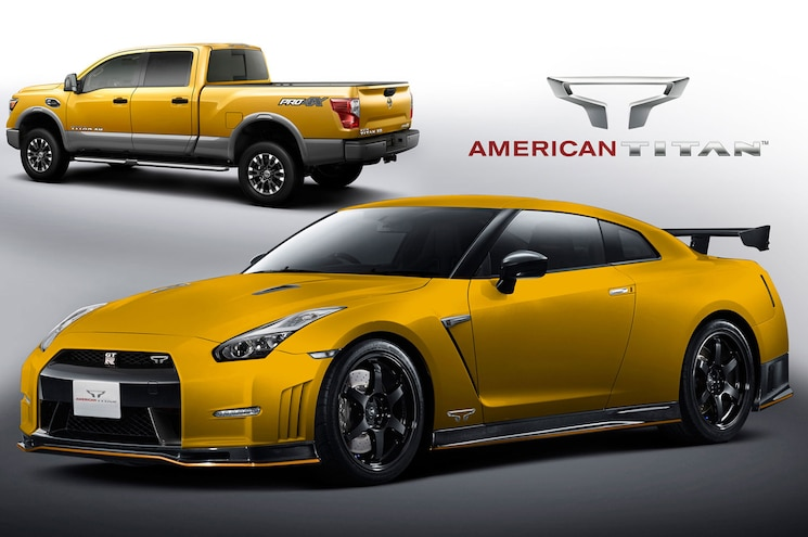 "First 25 Nissan Titan XD Trucks Sold Will Come With GT-R ""Titan Launch Edition"""