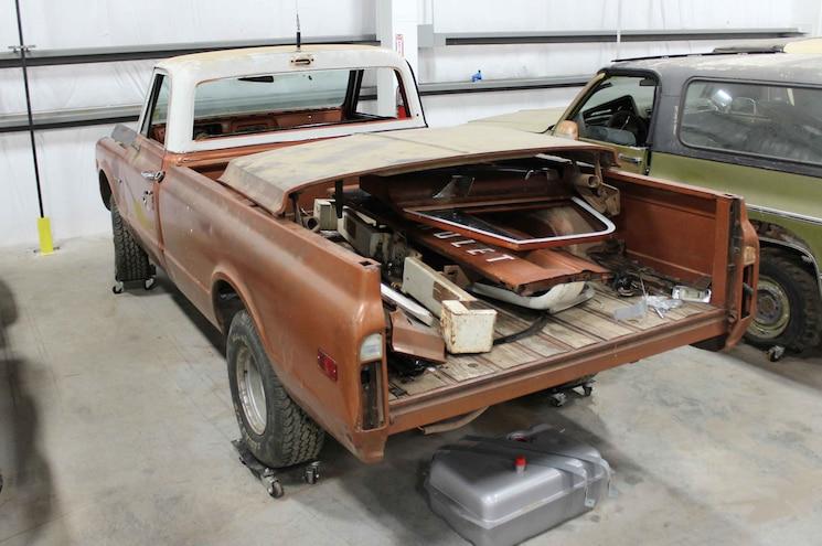 1972 Chevrolet K10 Lmc Project Truck Rear