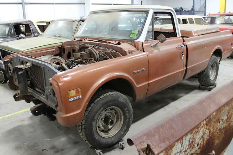 1972 Chevrolet K10 Lmc Project Truck Front Angle