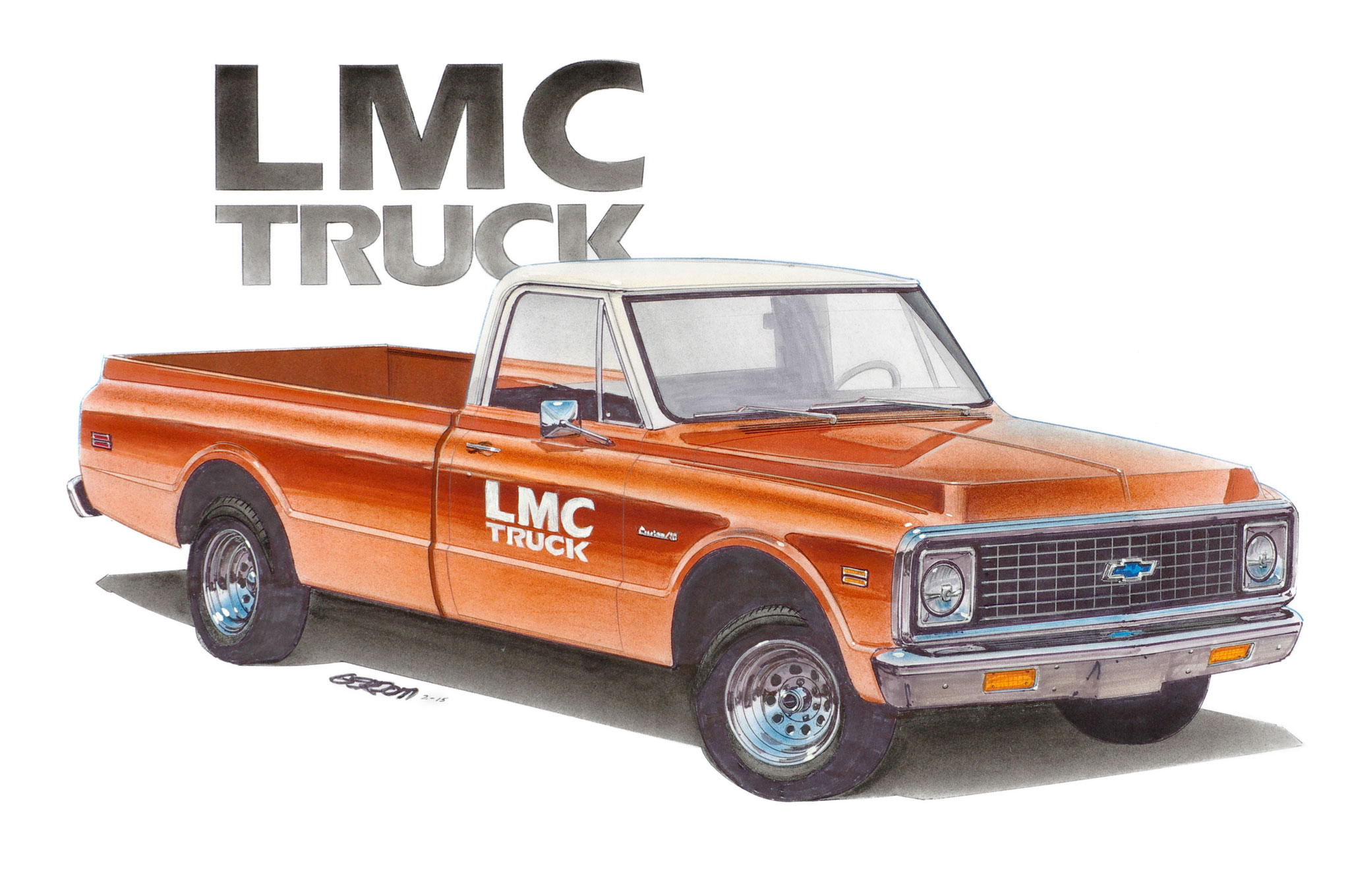Ready Aim Name Lmc Truck 1972 Chevrolet K10 Naming Contest