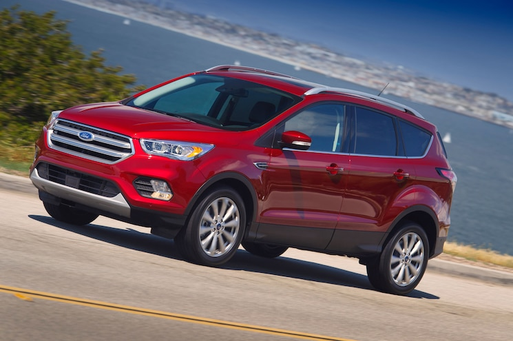 2017 Ford Escape Left Front Driving