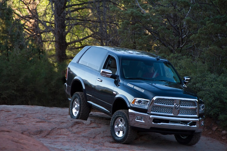 Report: FCA Considering Truck-Based SUV, Midsize Pickup