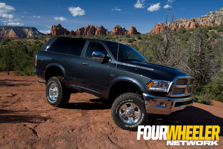 Ram Unveils 2017 Ramcharger Concept at Easter Jeep Safari 2015 in Moab