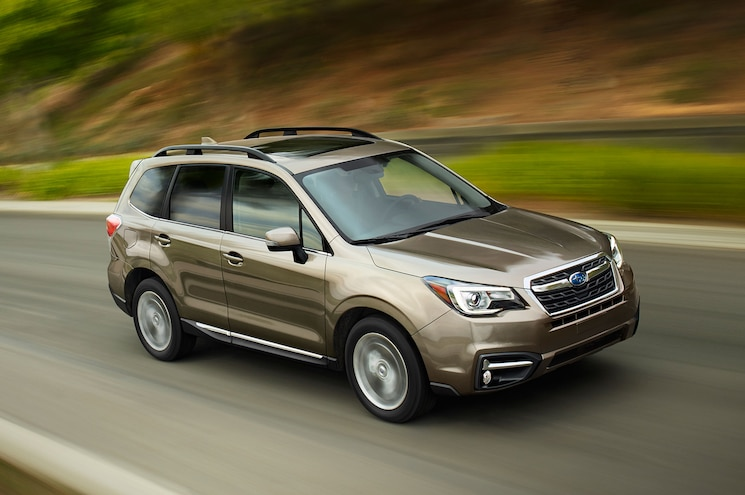 2017 Subaru Forester Gets Improved MPG, Torque Vectoring