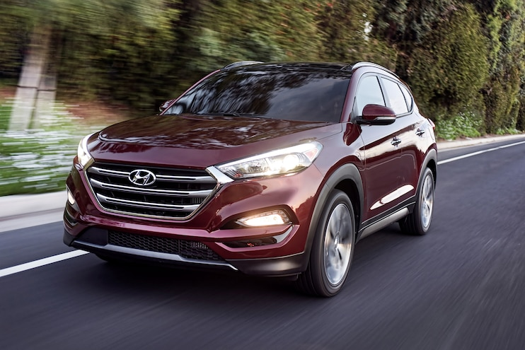 2016 Hyundai Tucson Front End In Motion