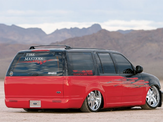 custom Ford Expedition rear View
