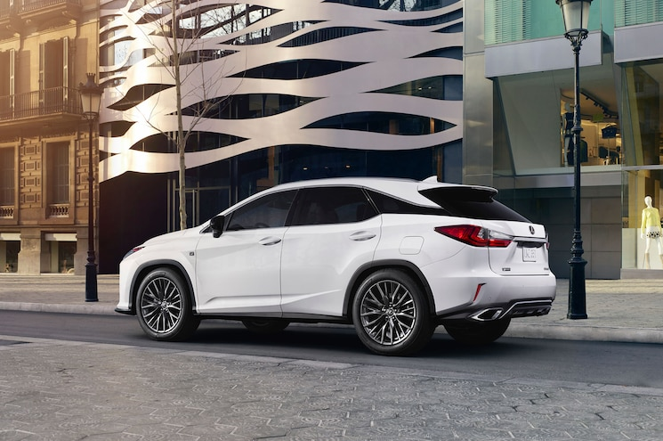 Lexus May Announce Intent to Build Three-Row RX Soon