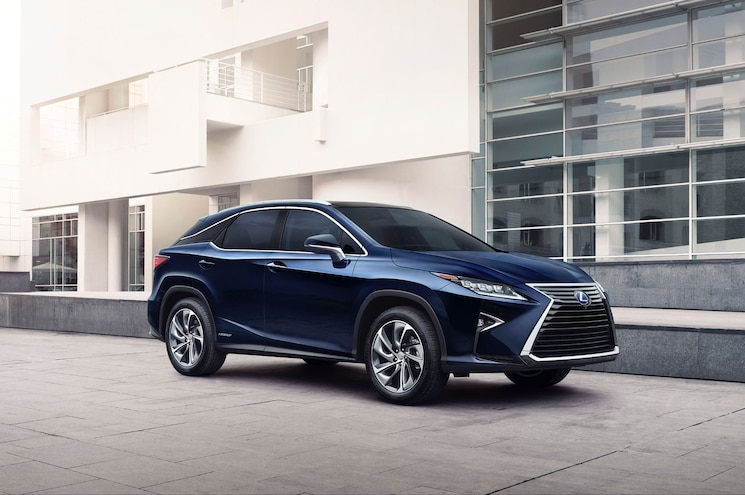 2016 Lexus Rx 450h Front Three Quarters