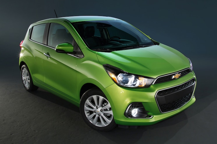 2016 Chevrolet Spark Front Three Quarter 03