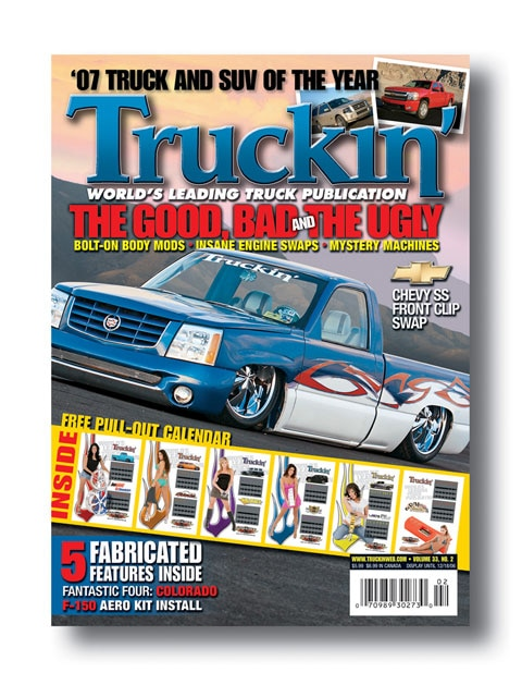 truckin Editors Note magazine Cover