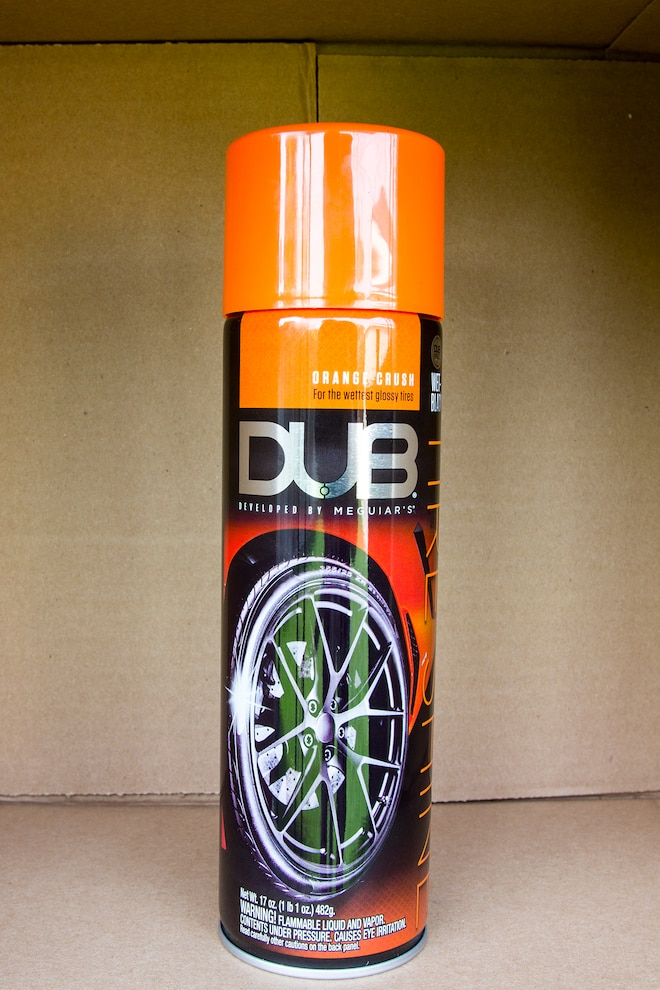 016 Tire Detailing Product Test