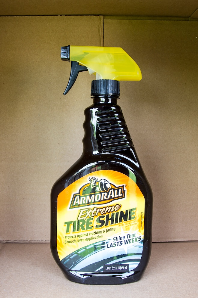 003 Tire Detailing Product Test