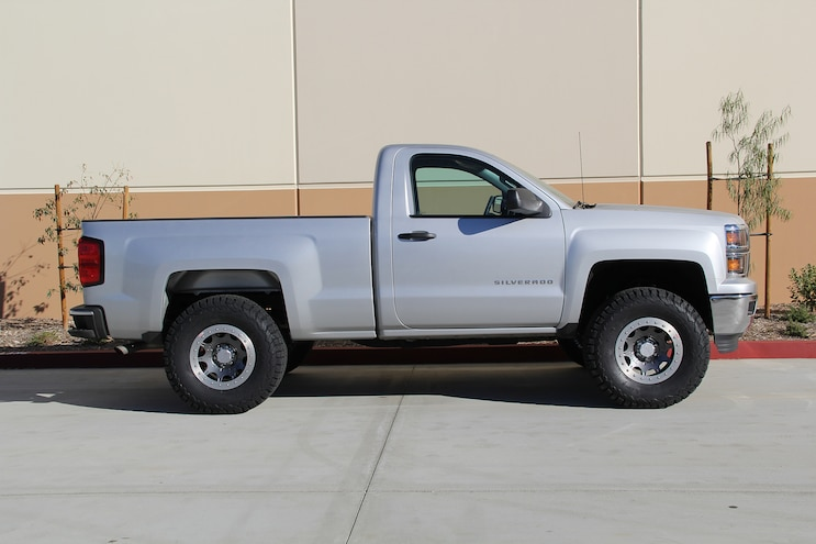 Lifting a 2015 Silverado with a CST 5.5-inch kit