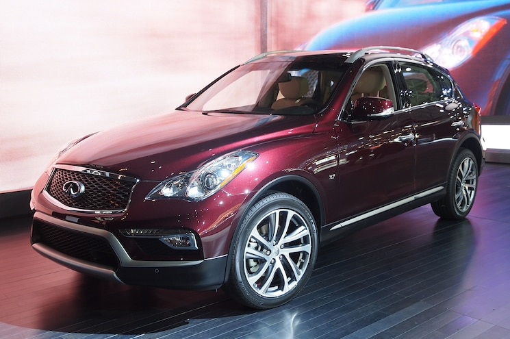 2016 Infiniti QX50 First Look