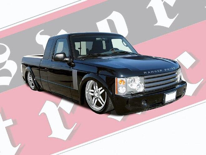 2004 Ranger Rover photoshop Concept