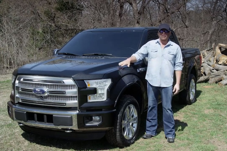 Video: Country Star Toby Keith Talks About His 2015 Ford F-150