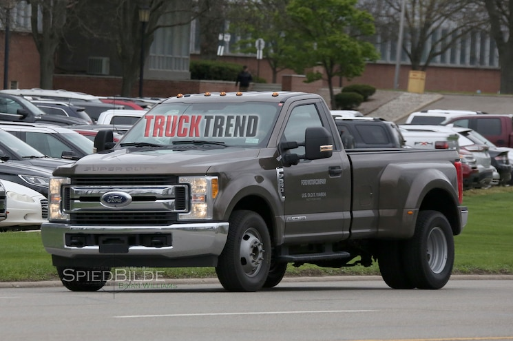 2017 Ford F-350 Single Cab Dualie Struts Its Stuff in the Buff