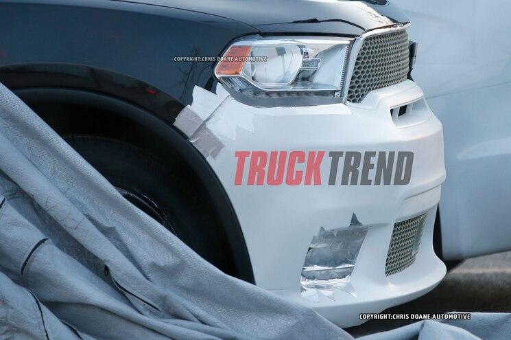 2018 Dodge Durango Hellcat Spied