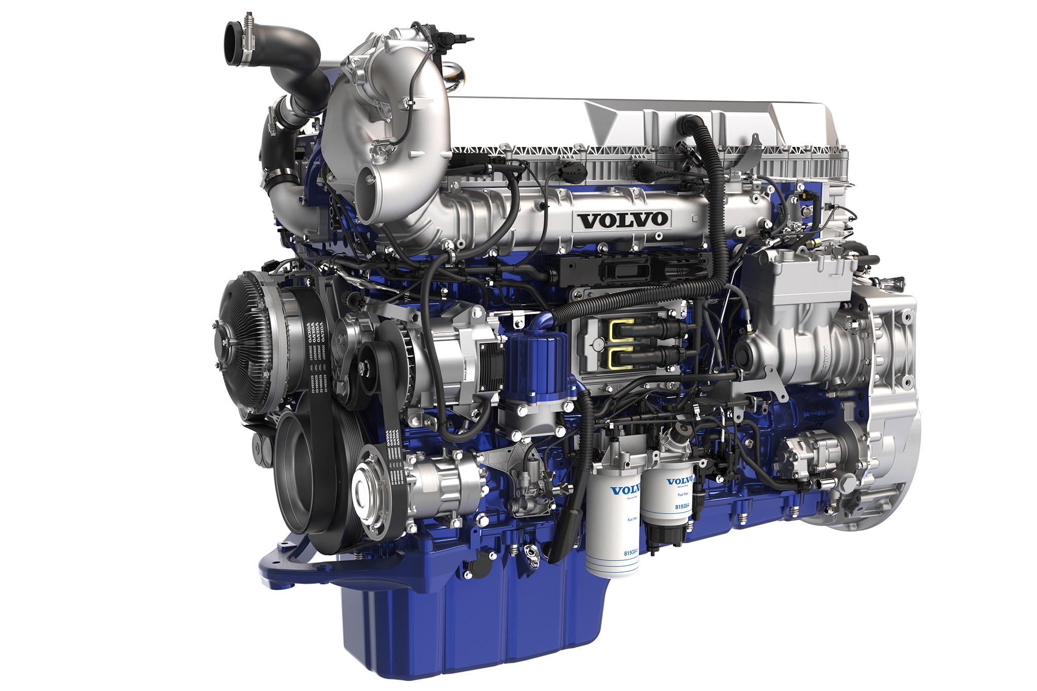 The new Volvo D13 With Turbo Compounding Pushes Technology and Efficiency  in Trucking   Volvo Truck Engine Diagram      Truck Trend