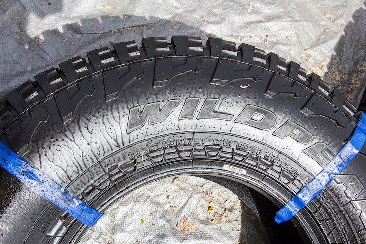 031 Tire Detailing Product Test