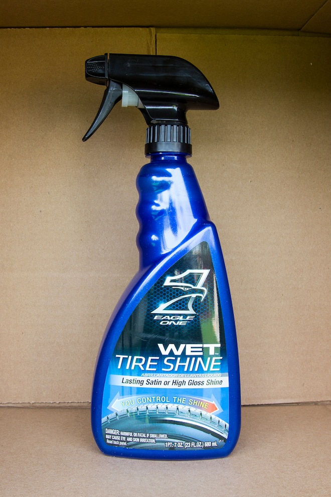 015 Tire Detailing Product Test