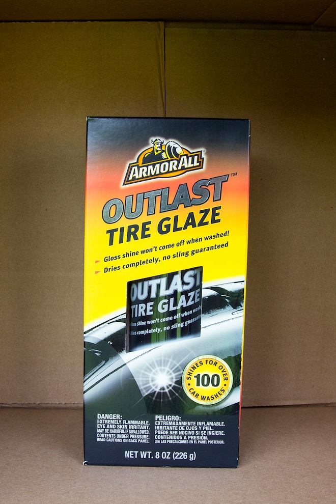 006 Tire Detailing Product Test
