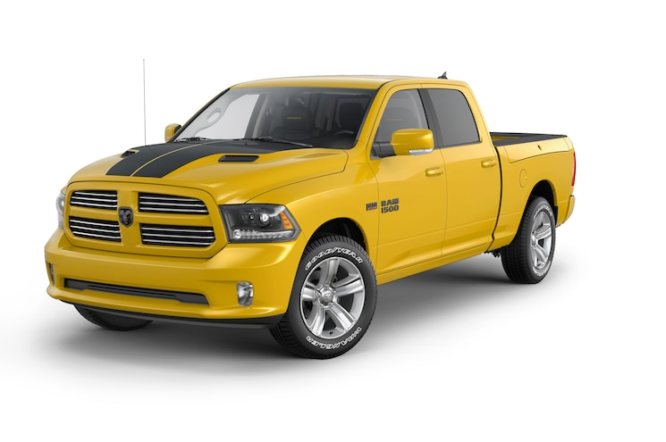 Ram Offers Limited-Edition 1500 Sport in Stinger Yellow