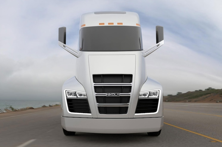 Nikola One Class 8 Truck Front View