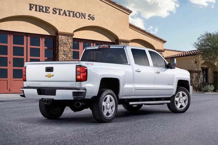 2015 Chevrolet Silverado 2500HD Custom Sport Rear Three Quarter