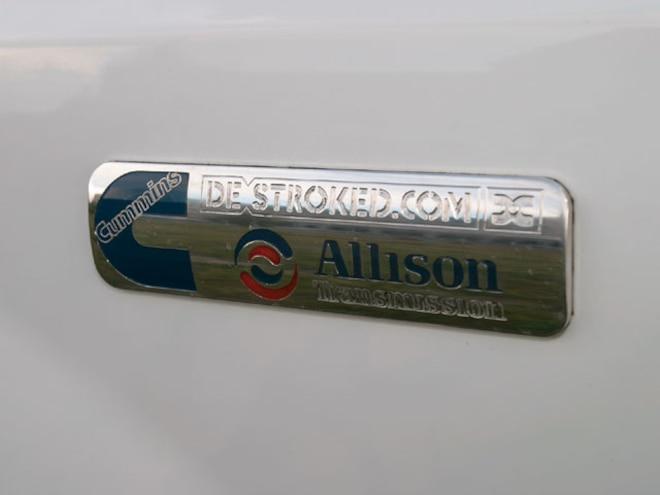 2008 Diesel Power Challenge Trucks de Stroked Badge