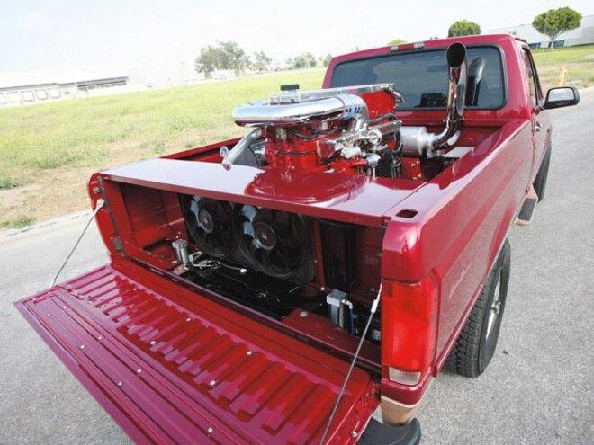 1995 Ford F150 Cummins Diesel rear Engine Installed