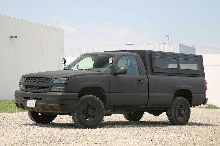 01 BDS 6 Inch Lift 2004 Chevrolet Silverado 2500