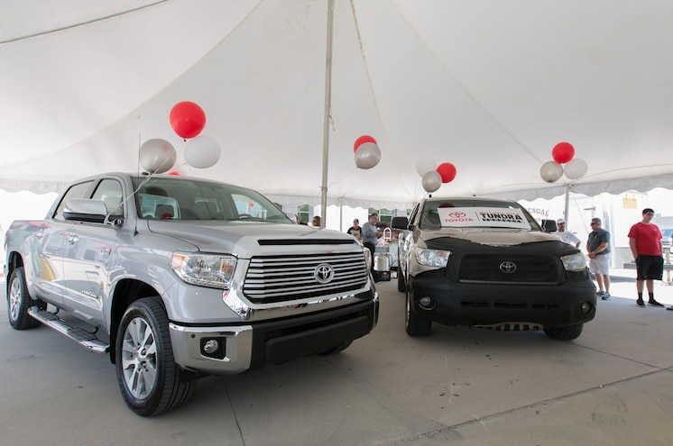 "Toyota Takes in 2007 ""Million-Mile Tundra"" on Trade"
