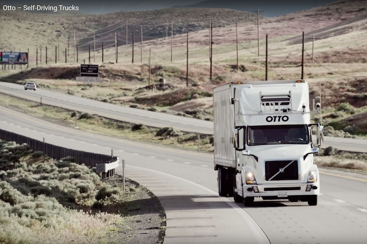 Uber-Owned Otto Reaching Out to Trucking Industry