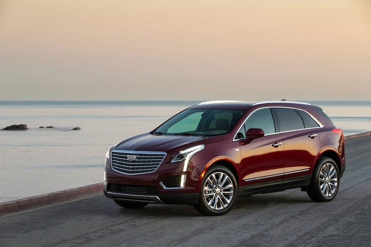 2017 Cadillac XT5 Earns Top Safety Pick Plus Award