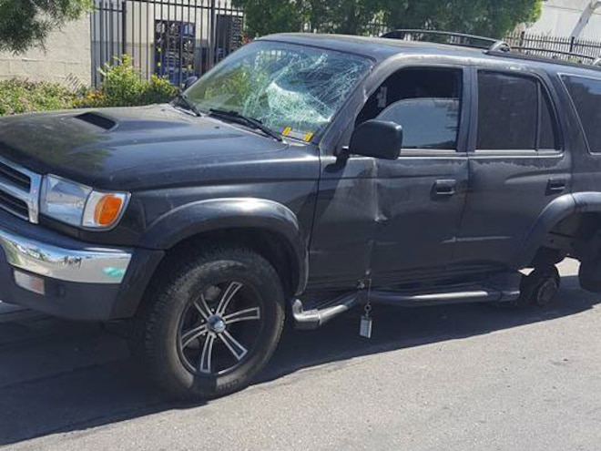 Toyota 4Runner Loses All Four Wheels After Jiffy Lube Brake Service