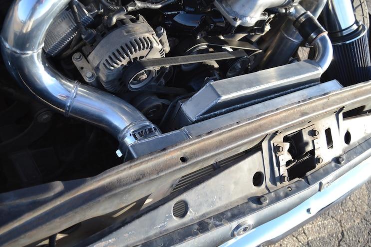 010 DSLP 160800 FORD Slammed Six Liter F100 Intercooler