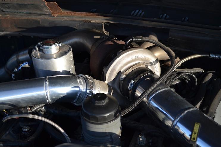 009 DSLP 160800 FORD Slammed Six Liter F100 Turbo