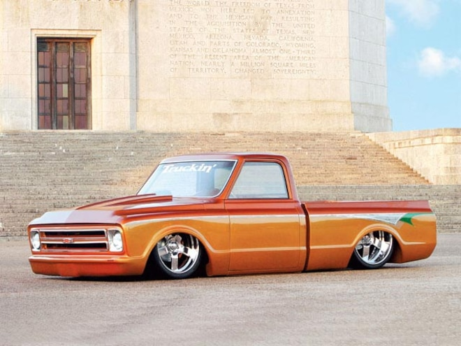 1971 Chevy C10 Pickup left Side Angle