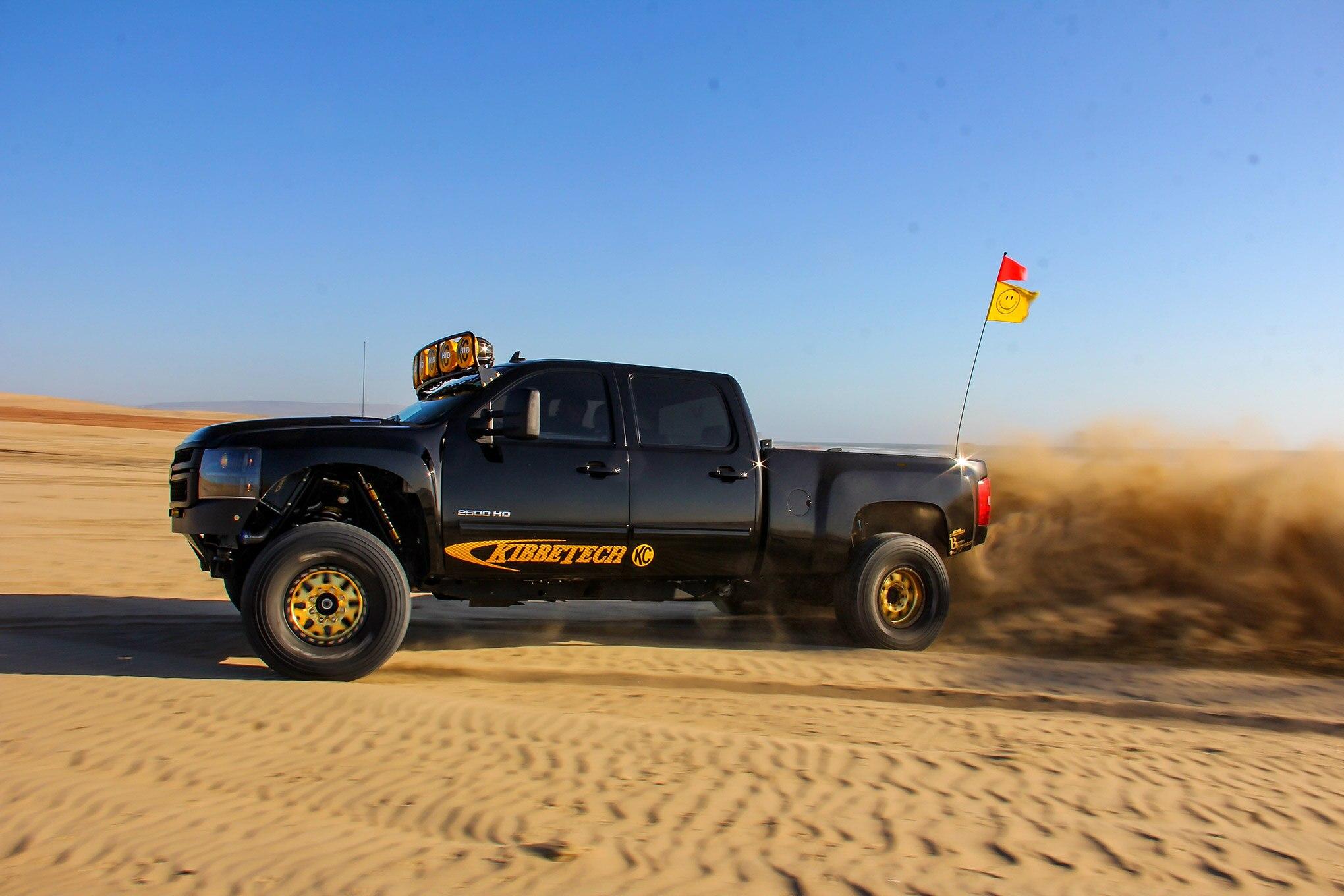 2011 Silverado 2500HD - Diesel Powered Prerunner