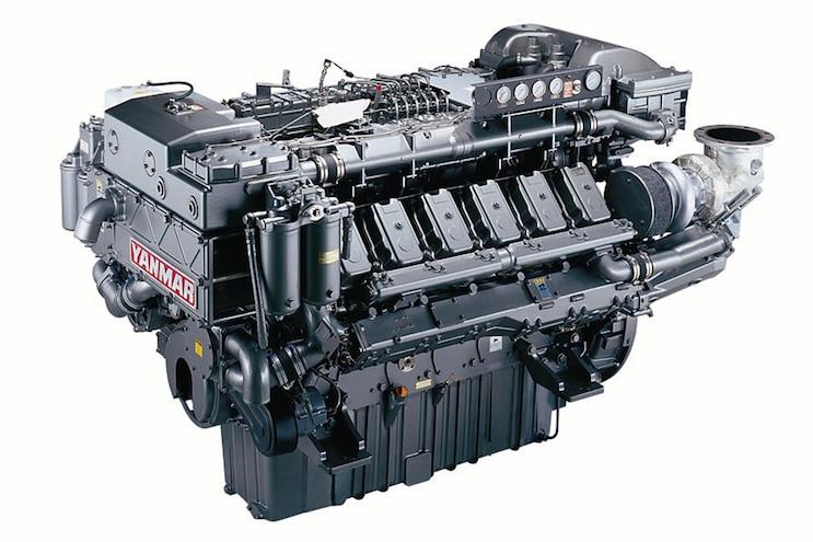 001 Yanmar 12AYM WGT Marine Engine