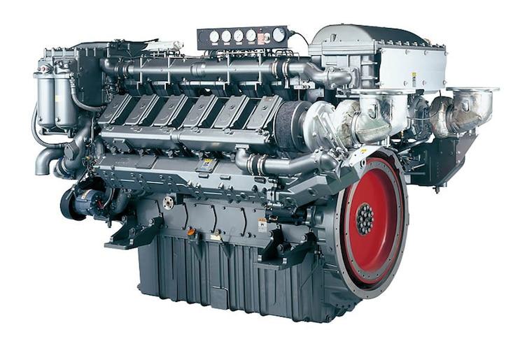 002 Yanmar 12AYM WGT Marine Engine