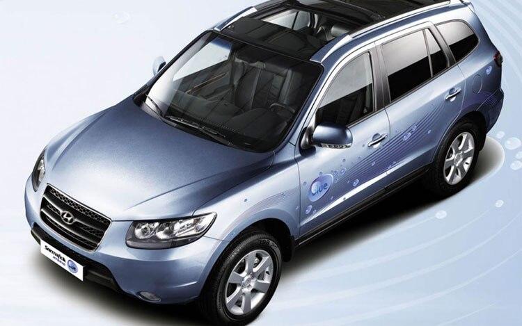 Hyundai Santa Fe Blue Hybrid SUV To Bow at Paris Motor ...