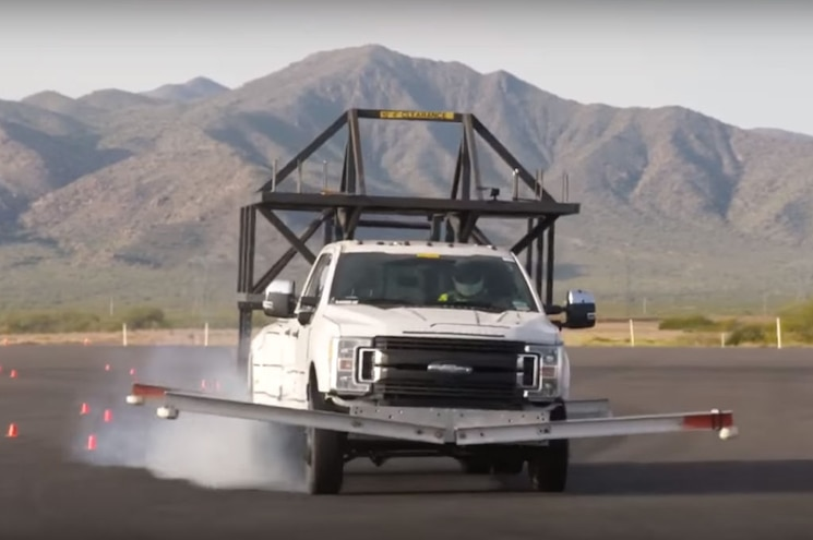 Ford Tests 2017 Super Duty with Camper Simulator