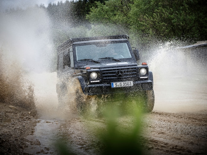 Mercedes-Benz Professional G Wagen is Built For Off-Road Work