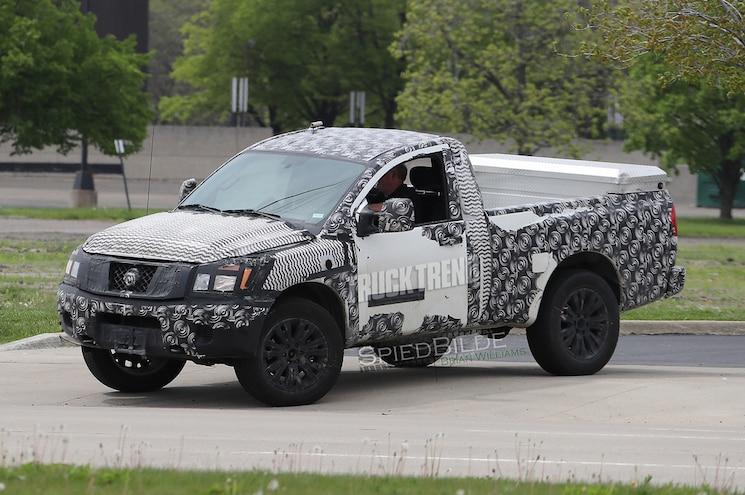 SCOOP: Nissan Titan Regular Cab Short Bed Spied: The New Sport Truck?
