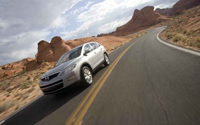 2008 Mazda Cx 9 road View