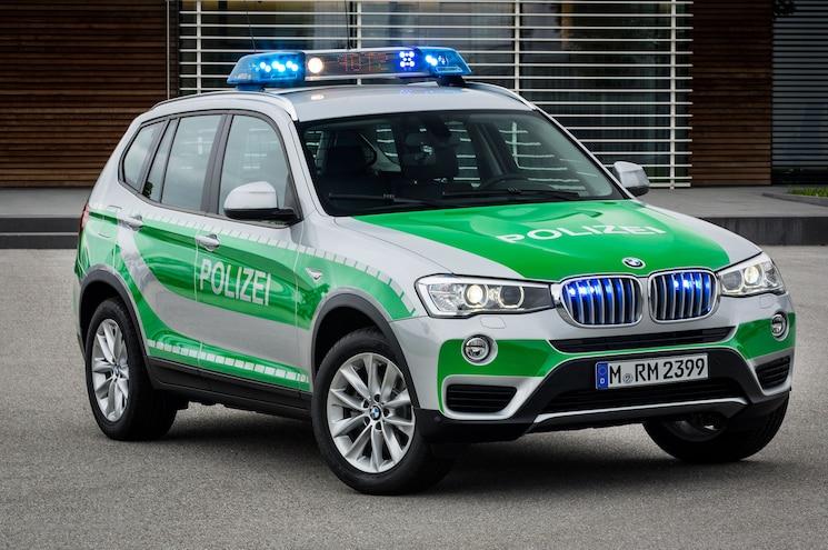 Bmw X3 Police Car