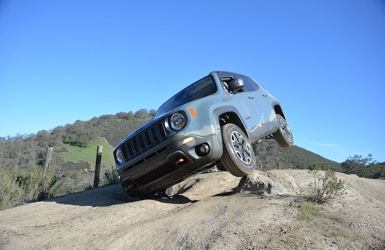 2015 Jeep Renegade Wheeling